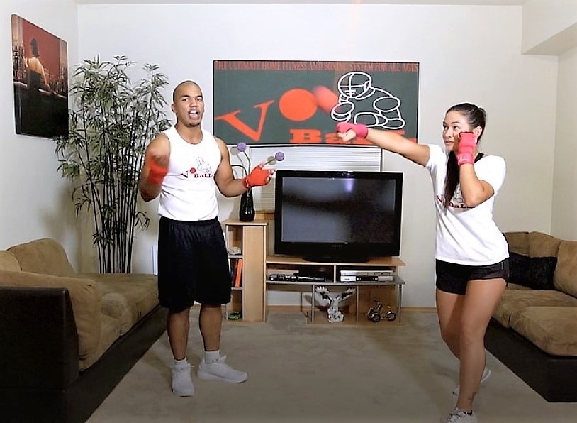 (3 sets) Vo Ball Systems: Reflex ball, boxing ball and ...